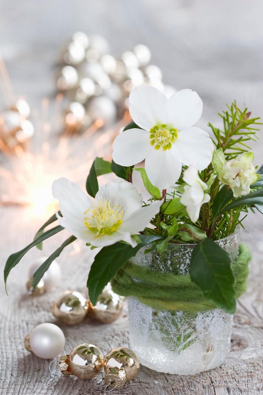 Popolare Bouquet Invernale Decorazioni con Fiori | DALANI MAGAZINE EI16