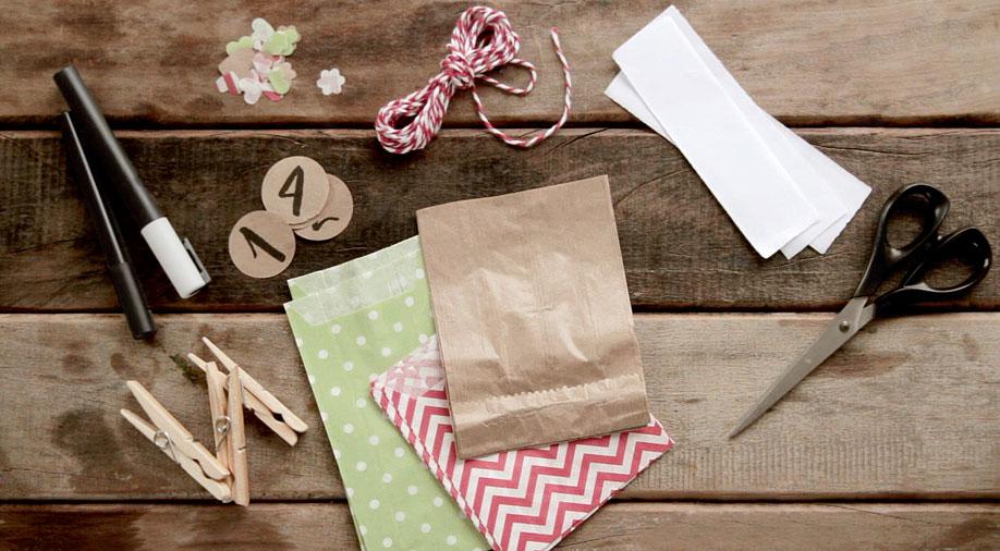 Calendario-dell-avvento, Dalani, Decorazioni, Natale, Fai-da-te, Idee, DIY