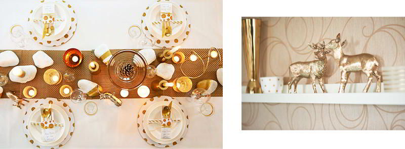 Dalani, Mise en place oro, Colori, Natale, Decorazioni, Trend, Style, Video