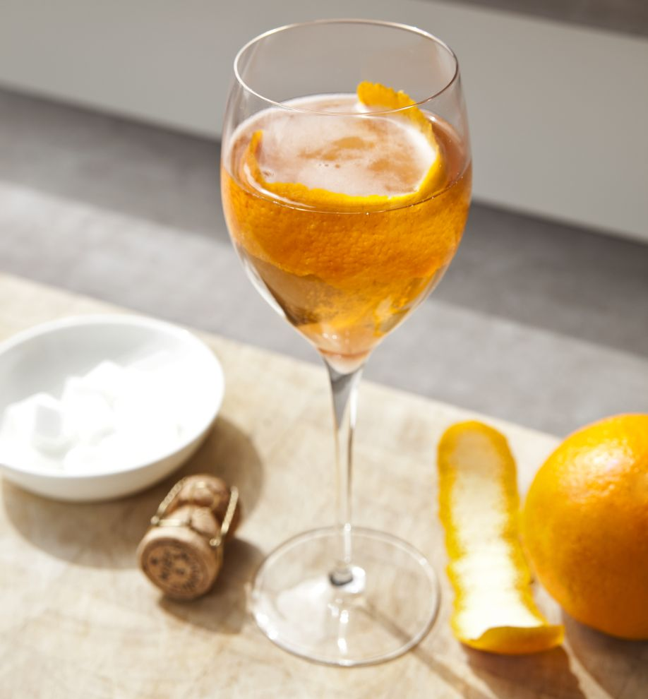 Champagne-cocktail, Ricette, Idee, Natale, Cocktail, Champagne