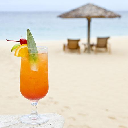 Ricetta per un cocktail tropicale