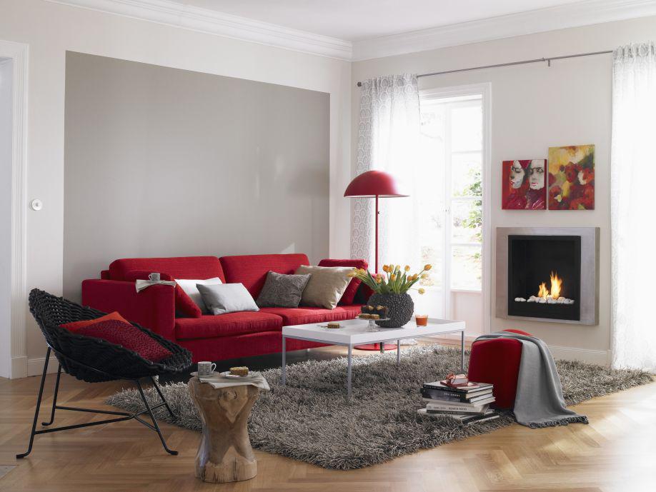 una casa a colori trend arredamento | dalani magazine - Arredamento Grigio E Rosso