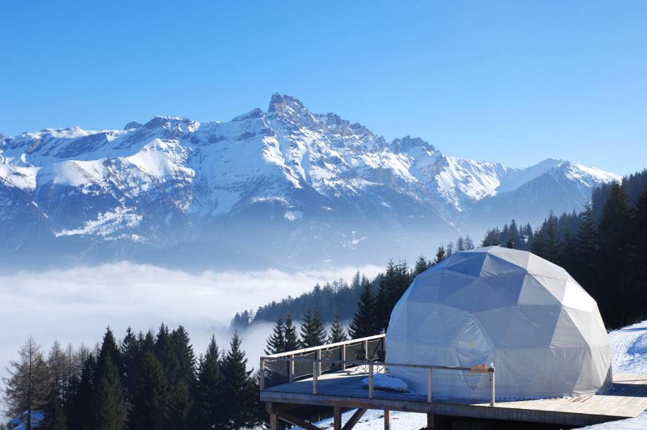 Hotel-whitepod, Hotel-sulle-Alpi, Benessere, Montagna, Relax, Stile, Weekend, Piste-da-sci, Ski-lift, Escursioni, Escursioni-in-montagna, Weekend-in-montagna