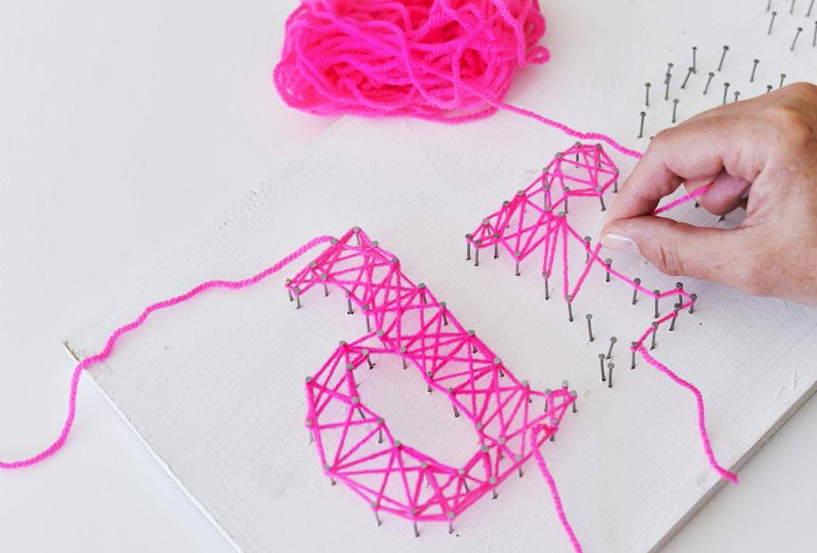 String-art, Arte, Colori, Decorazioni, Fai-da-te, Quadri-fai-da-te, Cornici-fai-da-te, Idee, Stile
