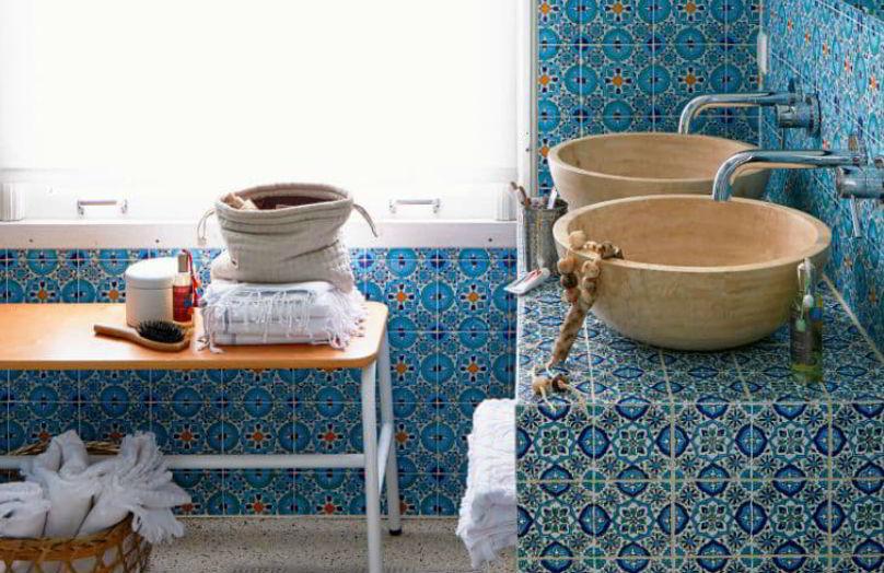 Hammam: un bagno in stile etnico