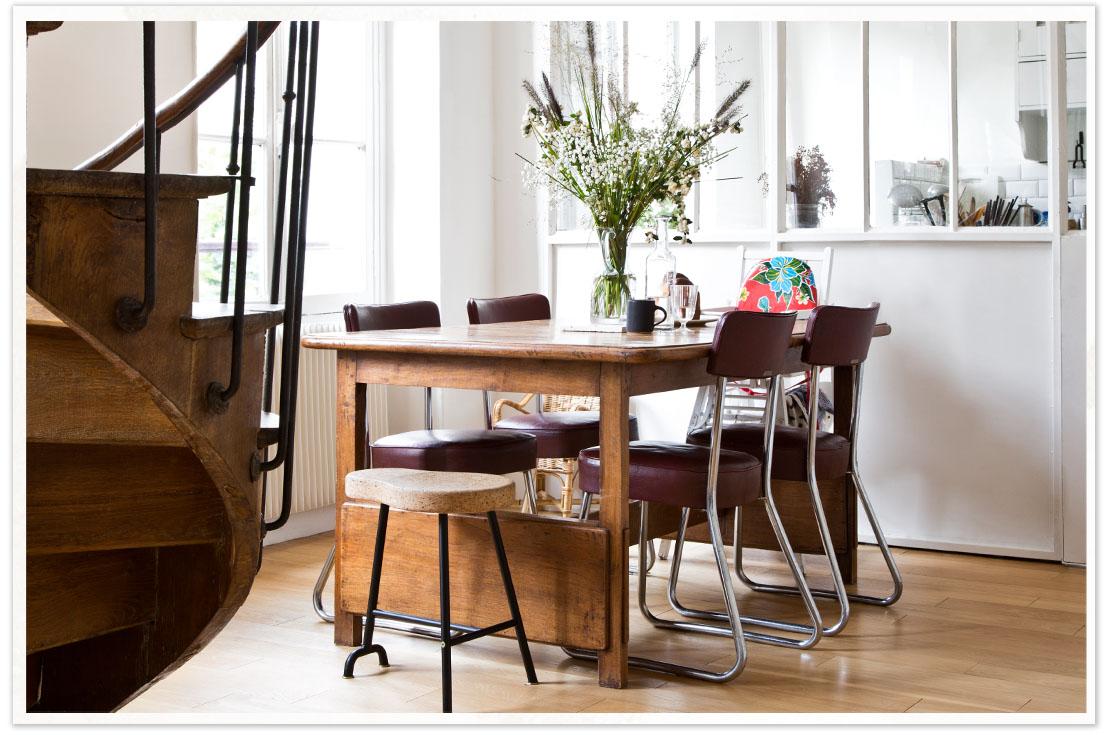 stile rustico tavolo