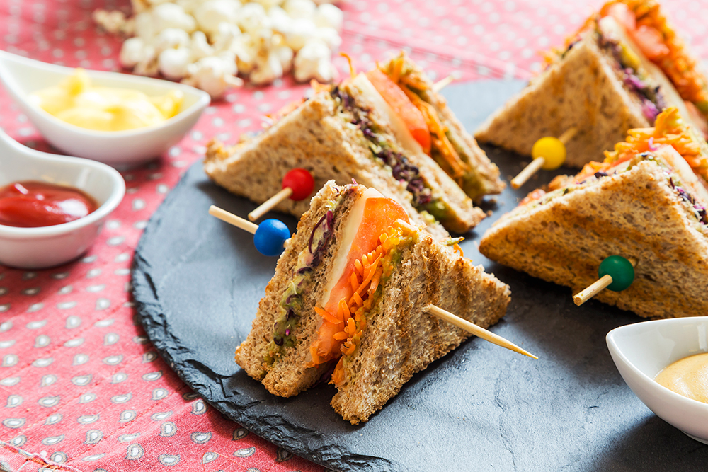 Club-sandwich, Club-sandwich-vegetariano, Ricette, Laurel-evans, Cucina, Dalani, Food
