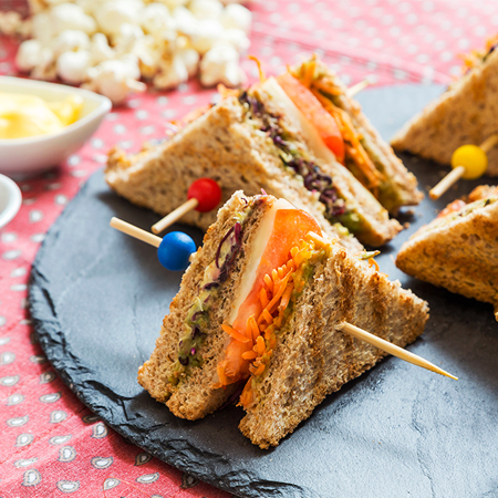 Club Sandwich vegetariano di Laurel Evans - Ricette dal mondo