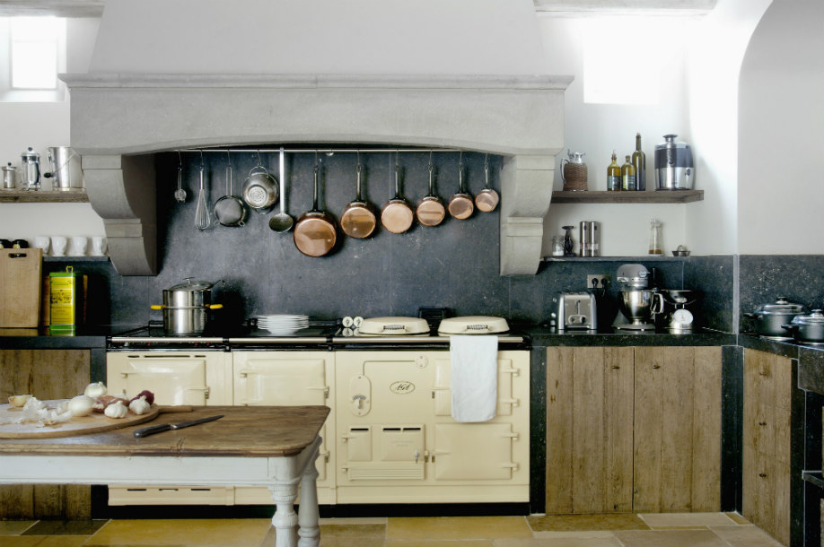 Cucina-retrò, Arredamento, Cucina, Stile, Vintage, Stile-retrò