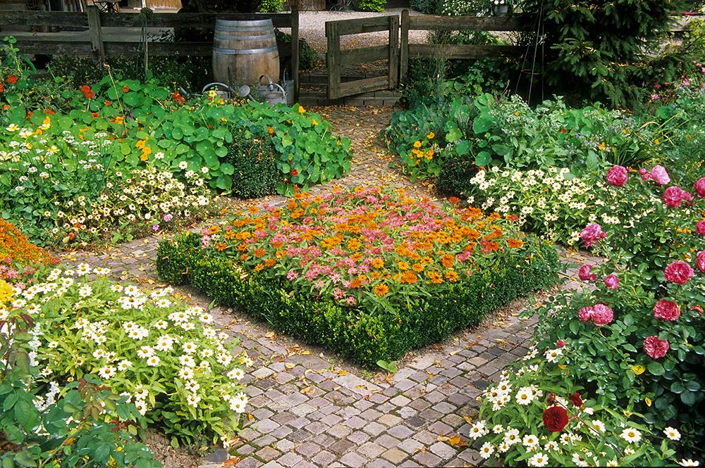 Giardino-all-italiana, Giardino-all-inglese, Fiori, Giardino, Primavera, Progetto, Outdoor