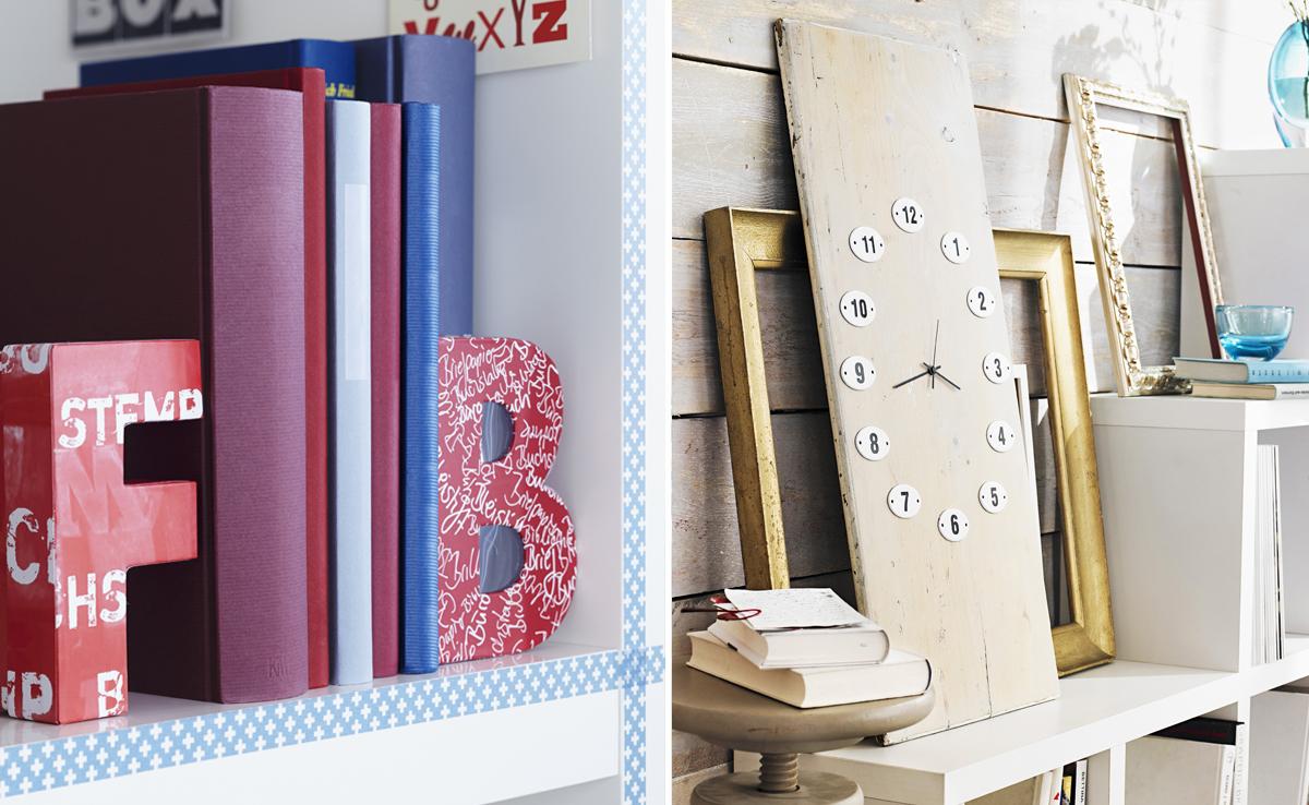 Lettering arredare con lettere e numeri westwing magazine for Dalani adesivi parete