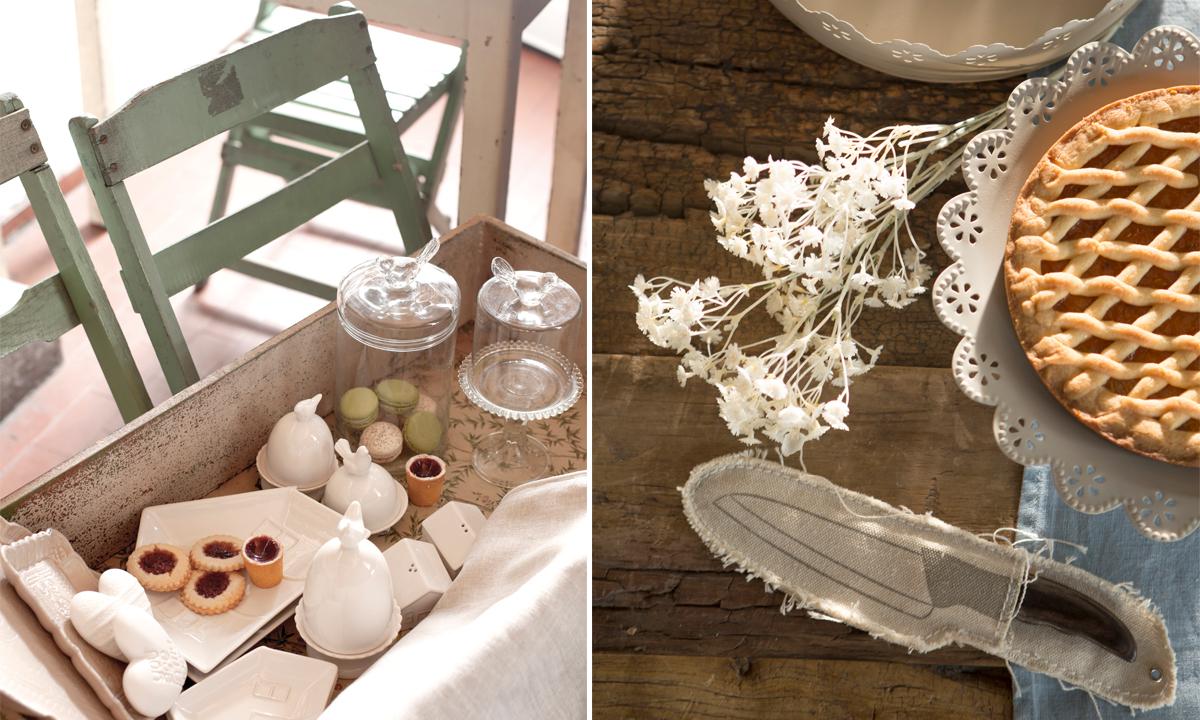La Fabbrica Del Verde, Decorazioni, Mise en place, Primavera, Shabby, Trend