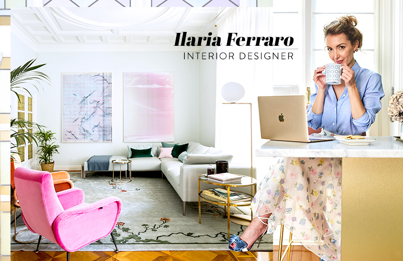 Ilaria Ferraro - La mia casa Art Déco tra Oriente e femminilità