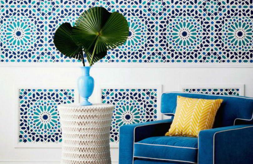Stile mediterraneo: maioliche e mosaici