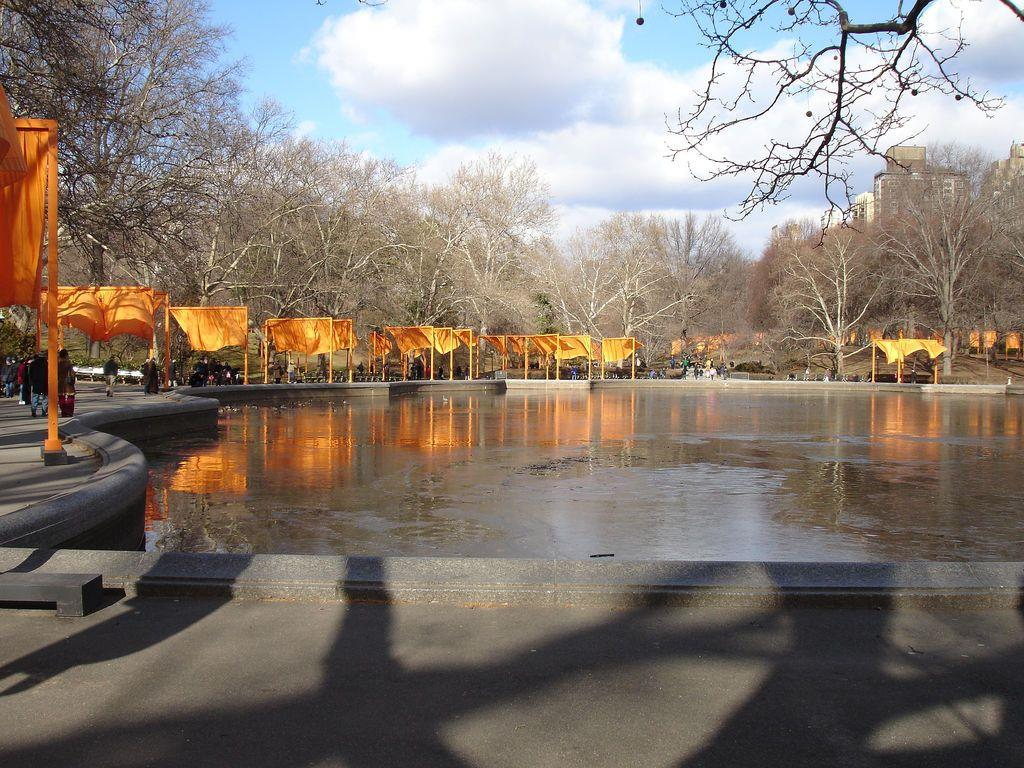 The Gates, Central Park New York (2005) ©Martin van den Berg 2005