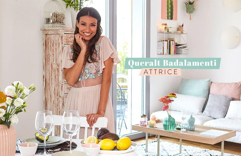 La mia prima casa - Queralt Badalamenti: vita da attrice... in piccoli spazi