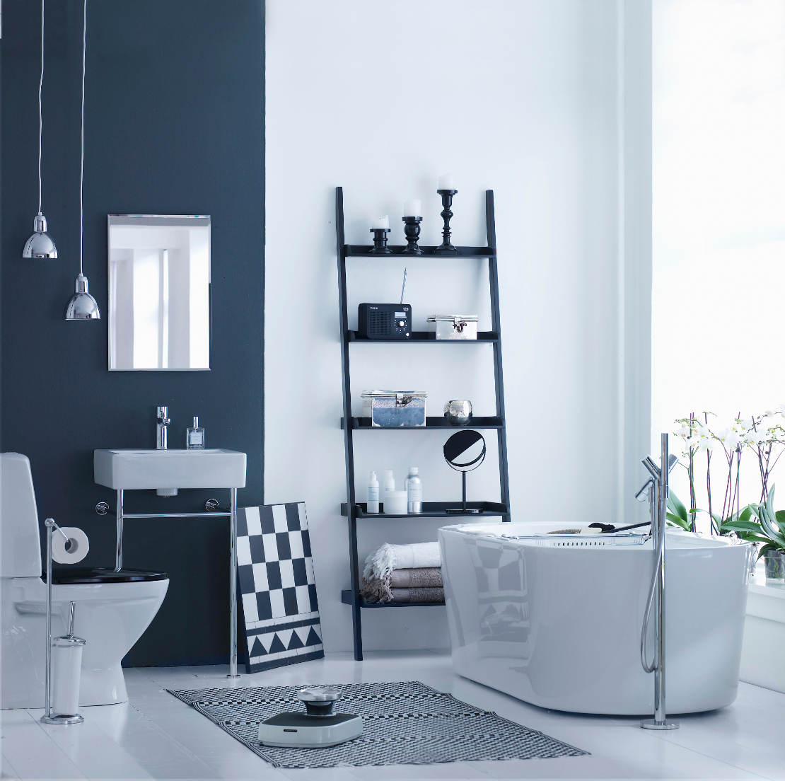 idee per il bagno come cambiare look westwing magazine. Black Bedroom Furniture Sets. Home Design Ideas