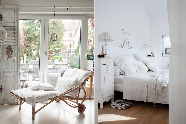 5 idee per un casa romantica shabby westwing magazine - Idee per imbiancare casa ...