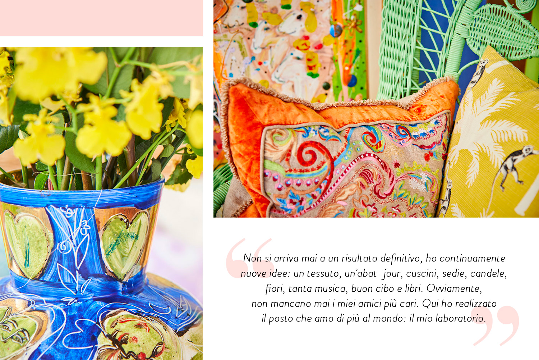 Isabelle Tuchband, Brasile, Stile, Colori, Casa, Arte, Pittrice