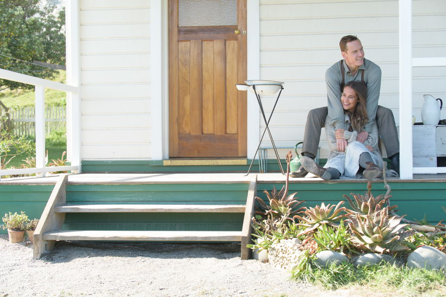 The Light Between Oceans di D.Cianfrance con Michael Fassbender e Alicia Vikander ©Asac - la Biennale di Venezia