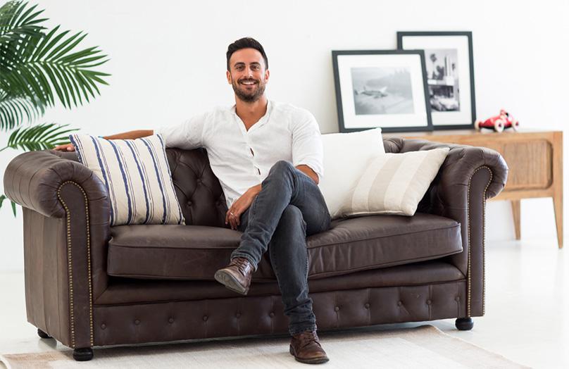 Una palestra in casa - Dave Gamba: stile da personal trainer