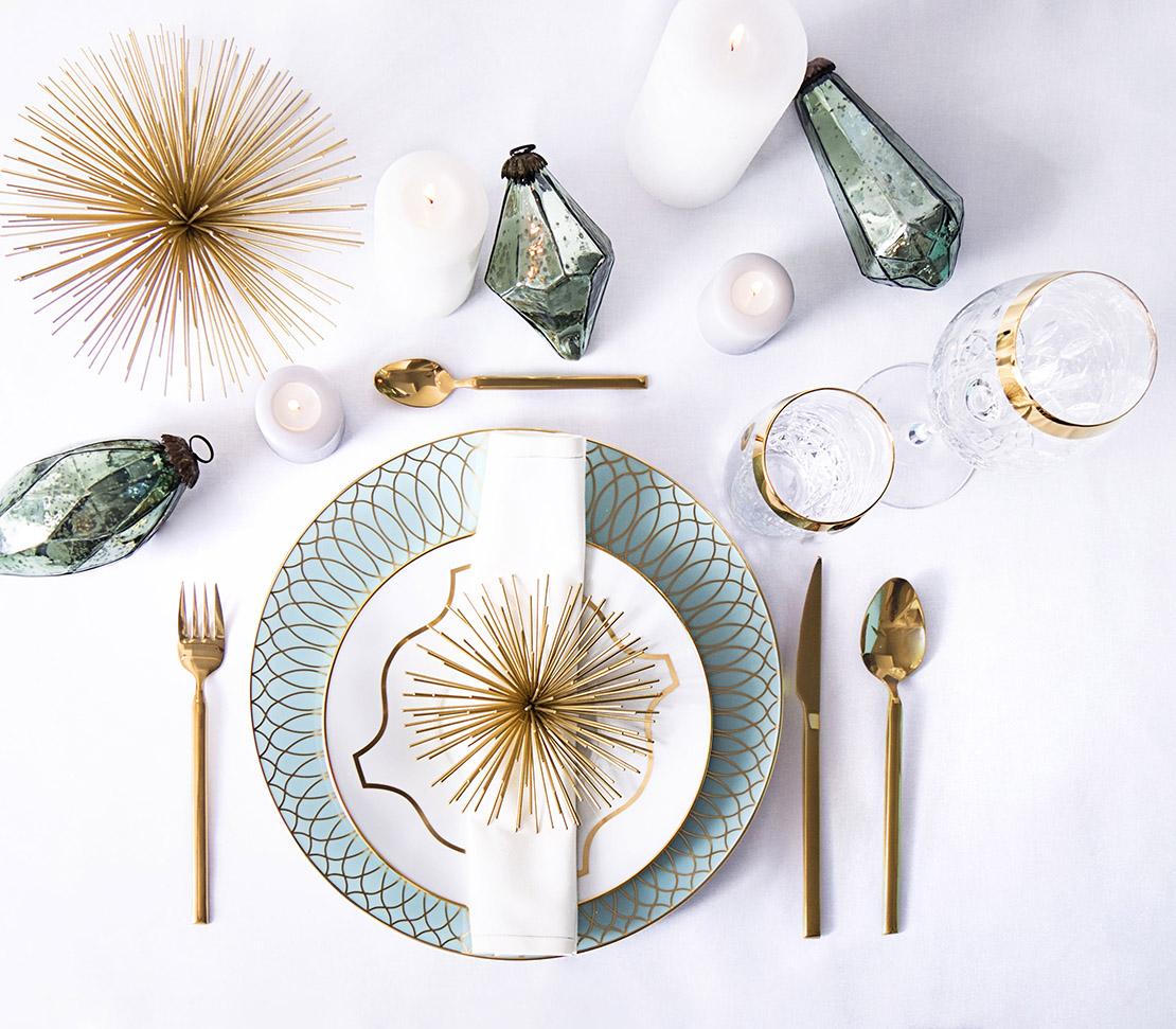 tavola feste glamour