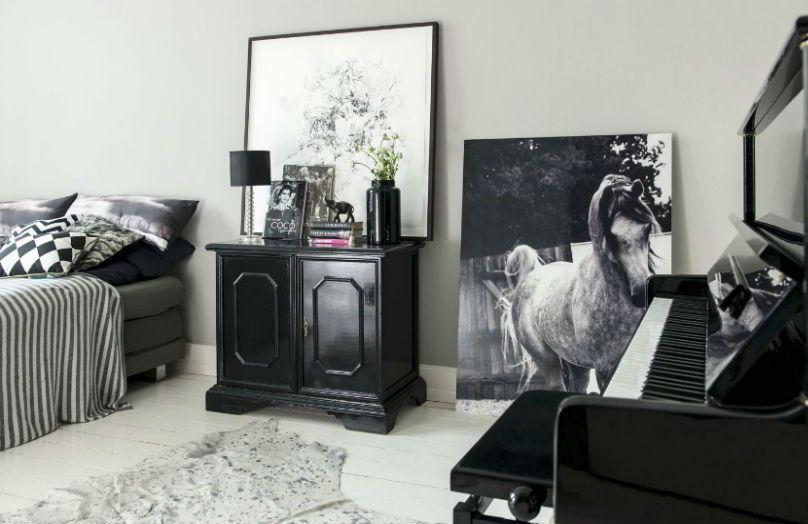 Shabby Rock - Una casa a tinte scure