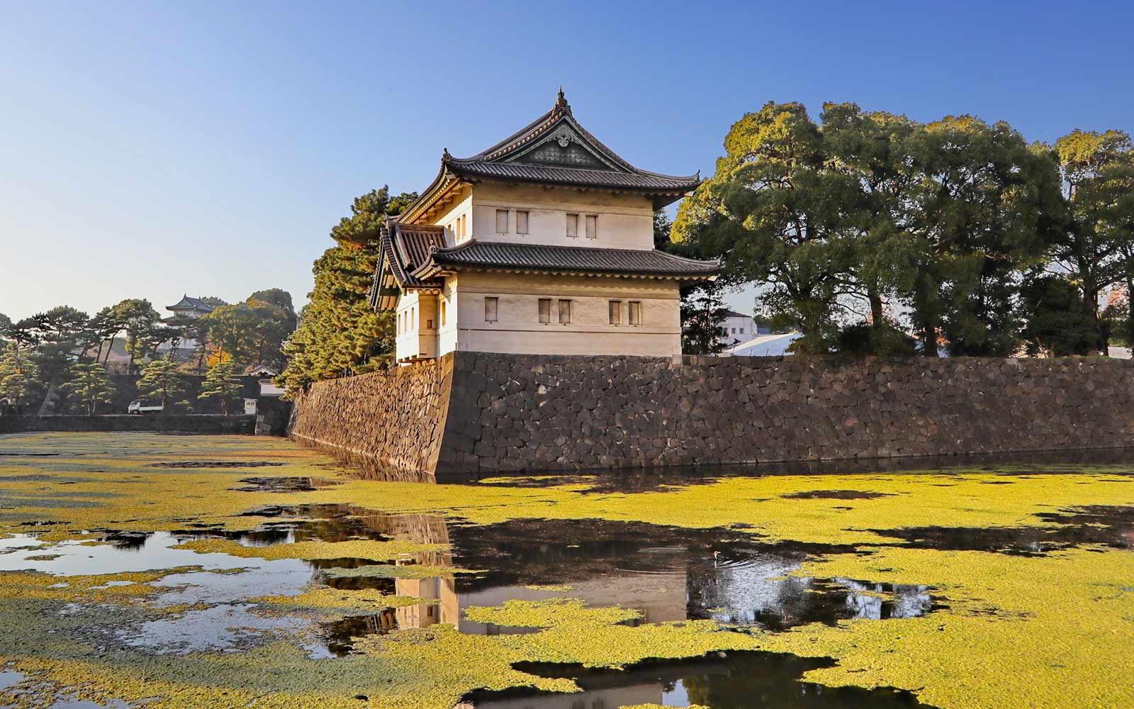 Tokyo: I giardini del Palazzo Imperiale