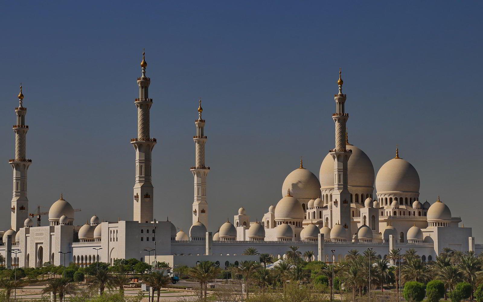 Abu Dhabi: Gran Moschea dello Sceicco Zayed