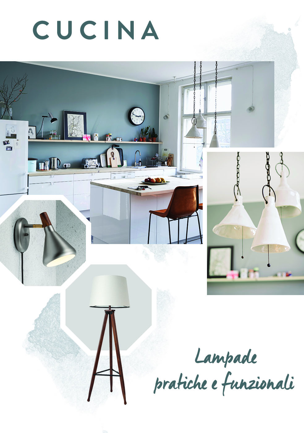 lampada cucina