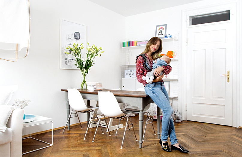 Casa total white: essenzialità e cura per i dettagli