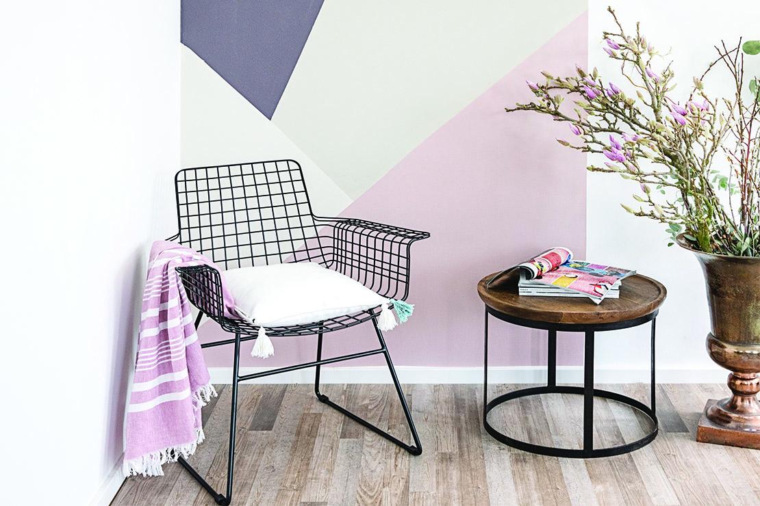 Decorazioni geometriche come dipingere la parete di casa dalani - Decorazioni da parete ...