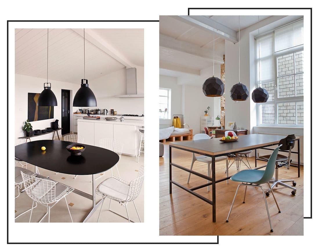 L importanza della luce le lampade per la sala da pranzo - Lampadari per sala pranzo ...