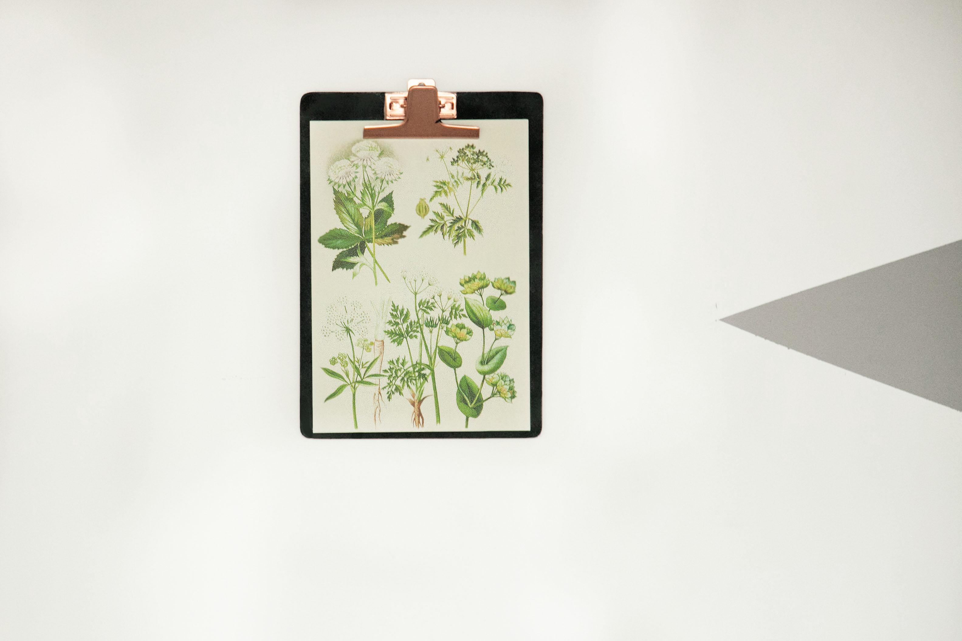 poster senza cornice clipboard