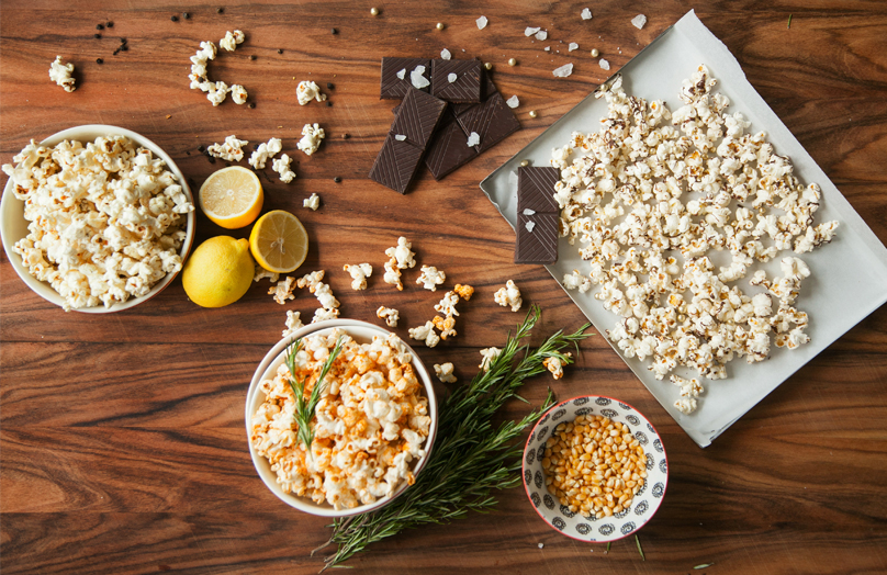 Popcorn aromatizzati - Tre sfiziose ricette