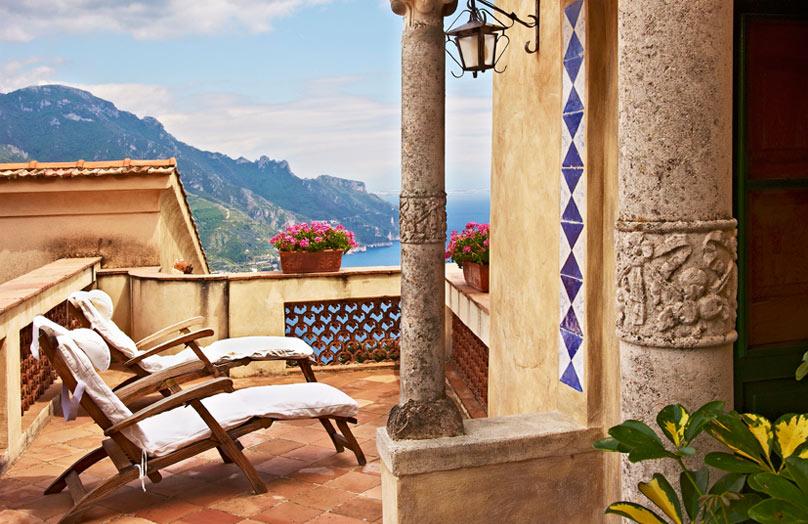 Una casa in stile mediterraneo