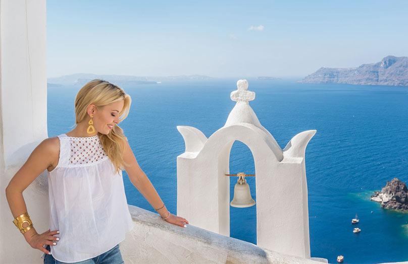 Vacanze a Santorini - In viaggio con Delia