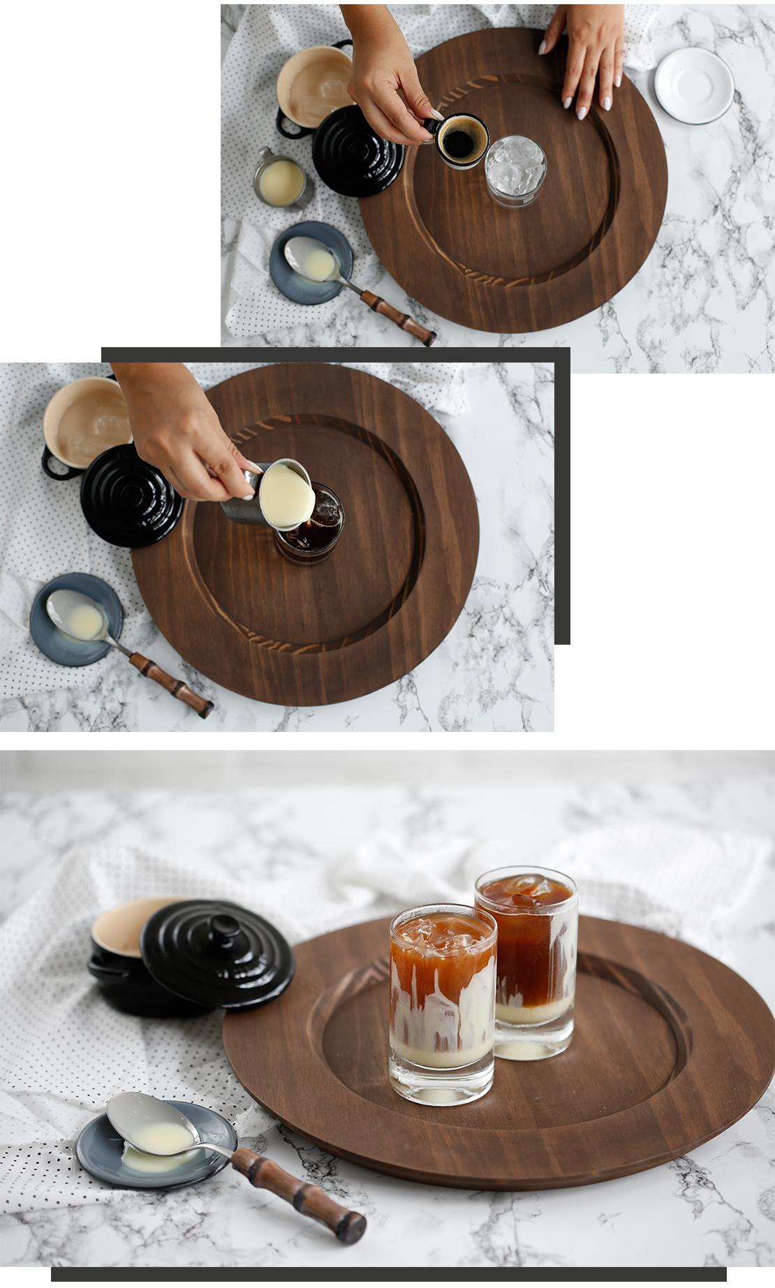 caffè freddo latte condensato