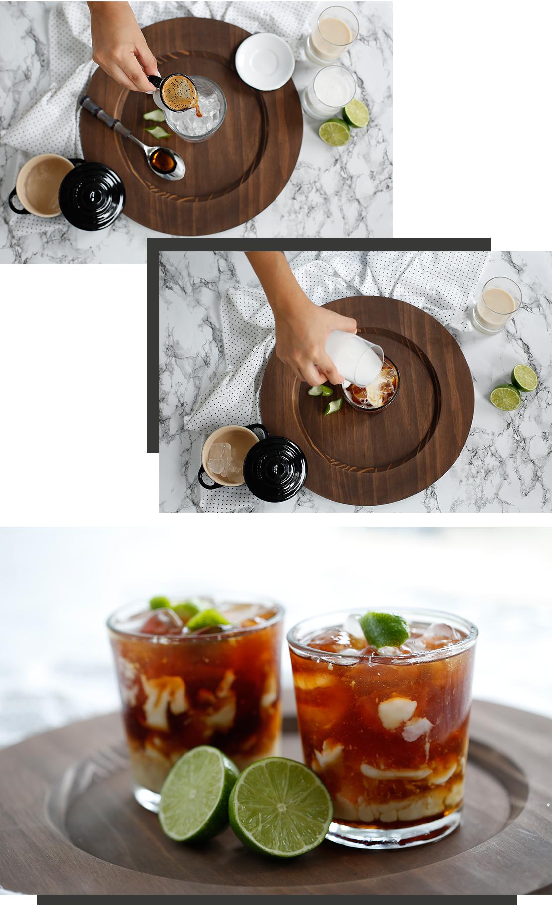 caffè freddo cocco lime