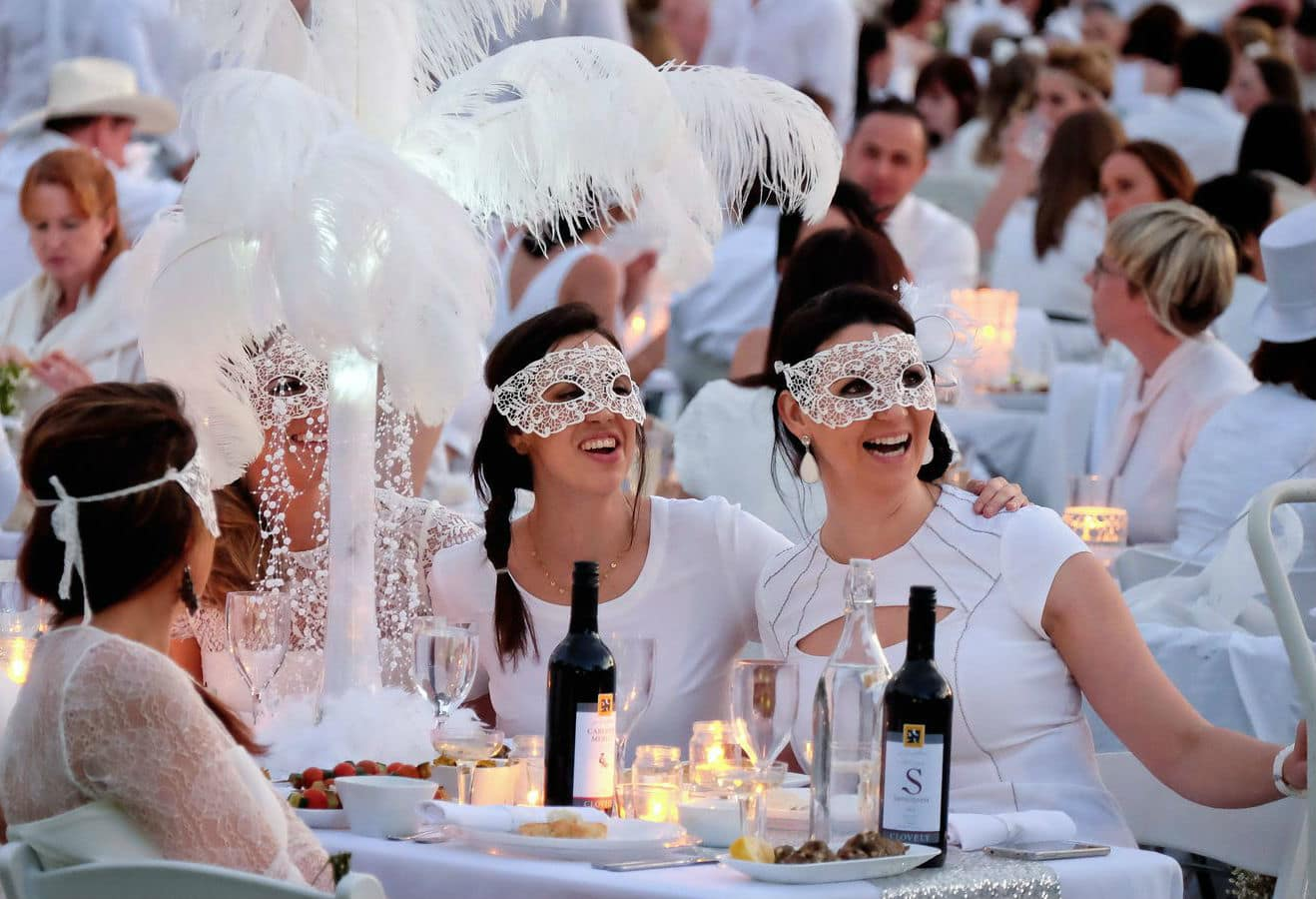 Westwing, Dîner en Blanc, Outdoor, Parigi, Westwing, Trend