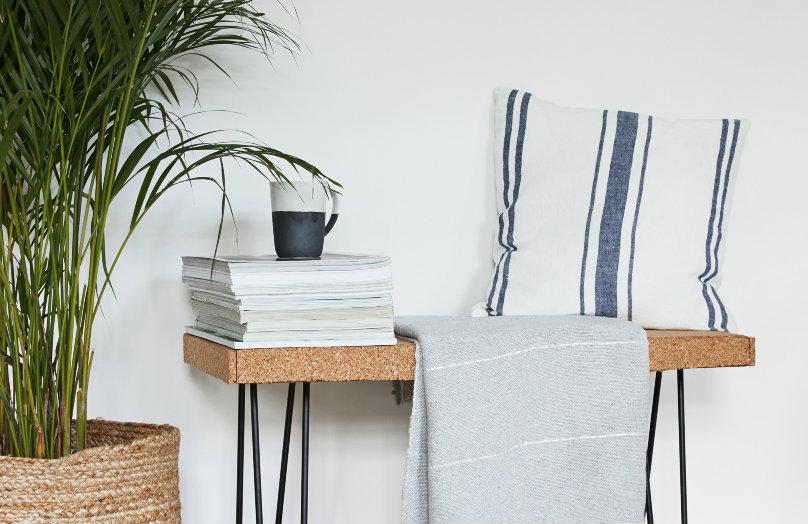 Panca di sughero - Design minimal