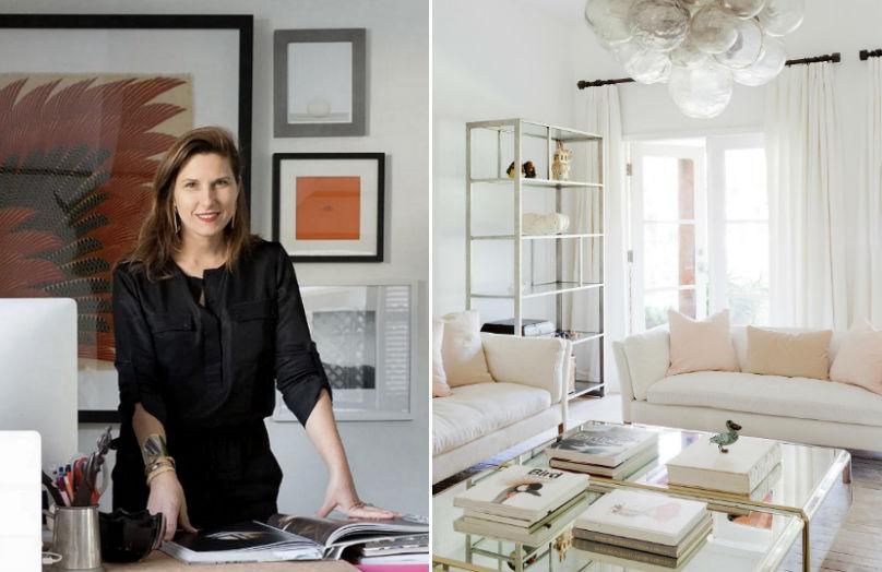 Lucie Ayres: l'interior design? E' a Santa Monica!