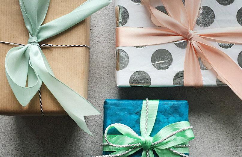 Confezioni regalo - Tre stili