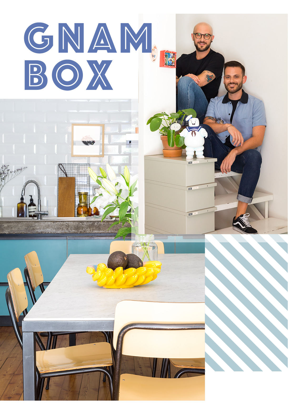 Gnambox ricette in food we trust casa westwing magazine for Casa magazine