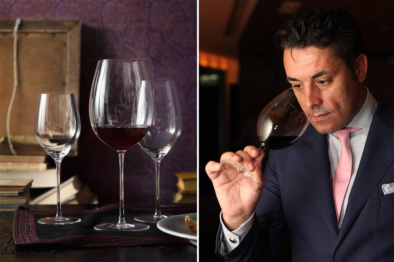 Luca Martini, Sommelier, Vino, Consigli, Mise en place