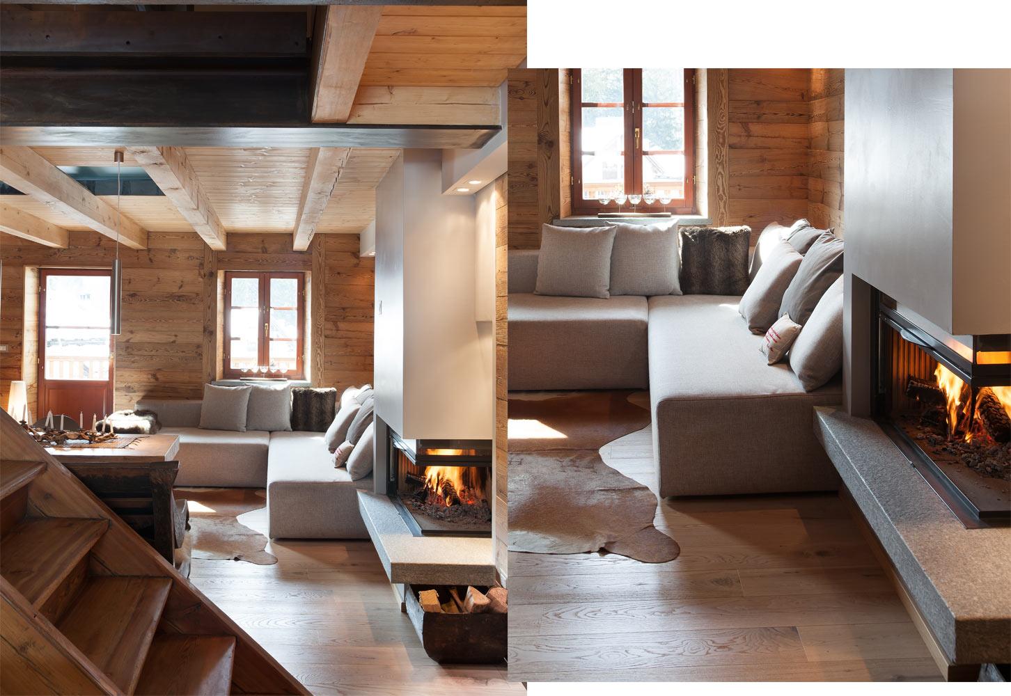 Chalet di design aosta stile rustico montagna westwing for Arredamento rustico casa