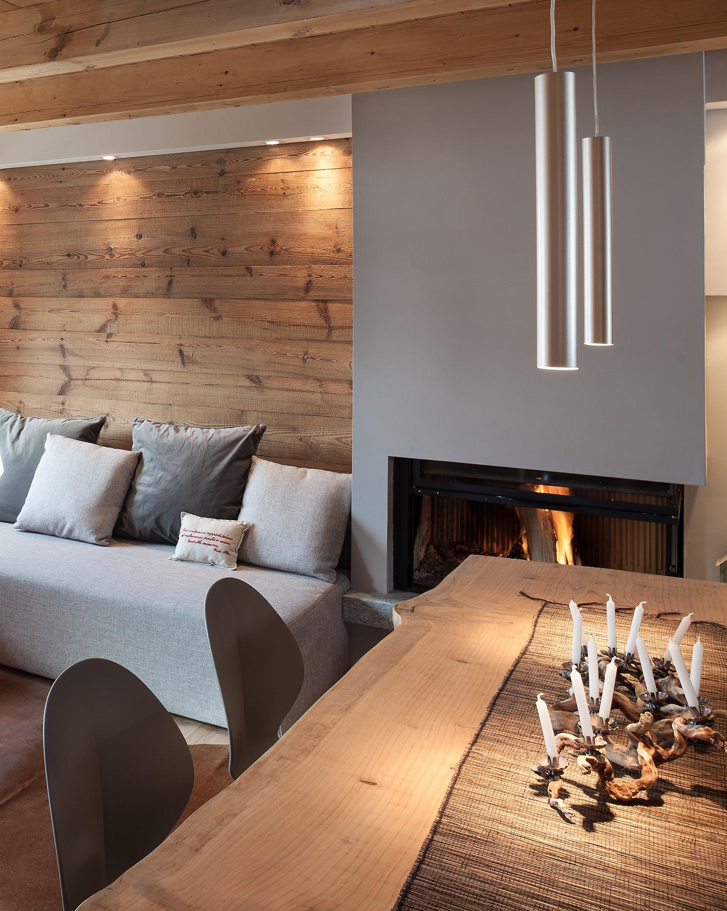 Chalet di design aosta stile rustico montagna westwing for Piani di casa in stile isolano