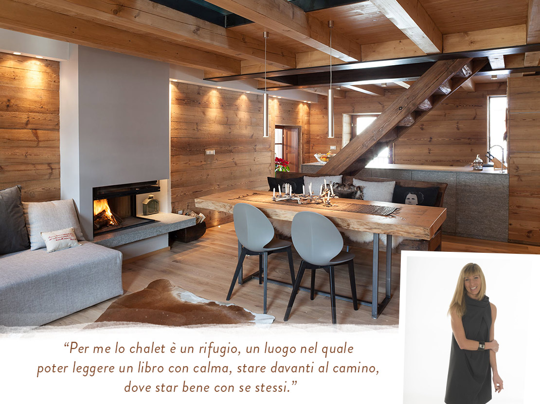 Chalet di design aosta stile rustico montagna westwing for Design casa interni