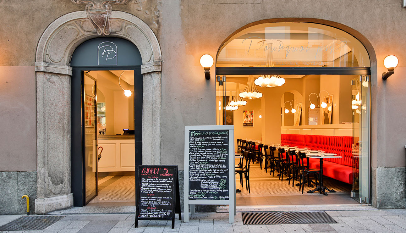 Pourquai Pas, Bistrot, Milano, Parigi, Ricette