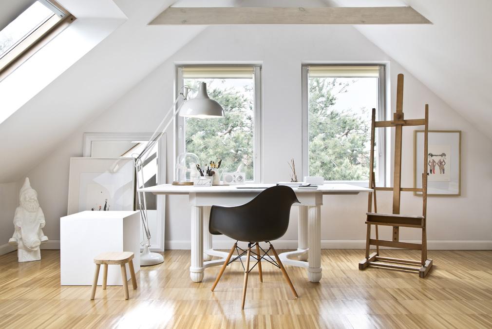 stile essenziale ufficio